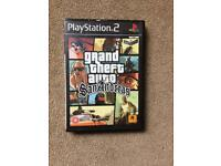 Retro GTA San Andreas ps2