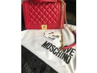 Love Moschino quilted Vers crossbody bag