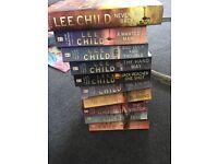 Jack reacher books by lee child