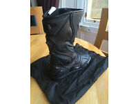 SPADA Motorbike Boots - Waterproof - £60 ONO - Ship for £5 - Near new condition - Size 44