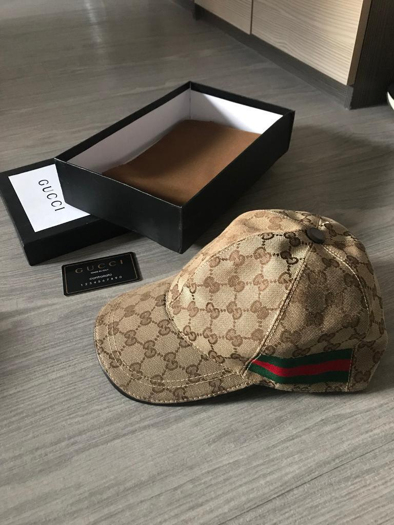 Gucci Cap with box and dustbag.  3902c225e38