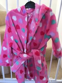 Girls dressing gown 2-3 years