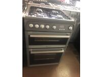 60CM SILVER HOTPOINT GAS COOKER
