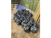 30 plus bags of earth free to collect