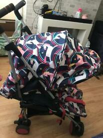 Cossatto unicorns stroller