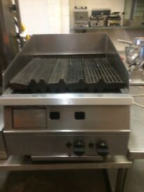 Griddle,Chargrill Gas ,Falcon 60 cm Wide x 78 cm Front To Back ,Good Clean Working Condition BARGAIN