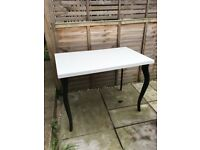 Lovely white dressing / dining table from IKEA