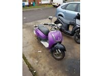 Selling my 50cc retro scooter get in touch