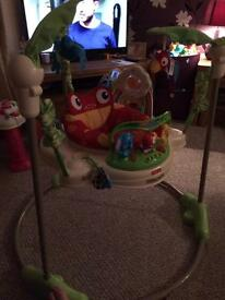 Jumperoo/ baby bouncer.