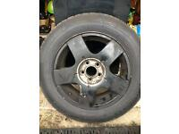 Volkswagen vag group alloy and brand new tyre 185/65/15