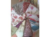 Designer Remnant Fabric for Curtains / upholstery / upcycling / sewing / crafts