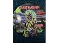 Picture discs.Iron maiden.