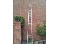 4 metre double run ladder