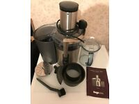 Sage by Heston Blumenthal Nutri Juicer Plus BJE520UK Excellent Condition Complete With Manual