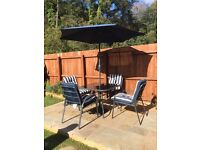Patio set for 4 for sale