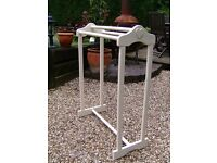 Wooden towel rail / clothes horse / airer