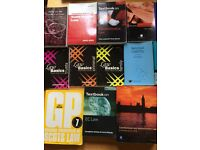 Law books - range of subjects