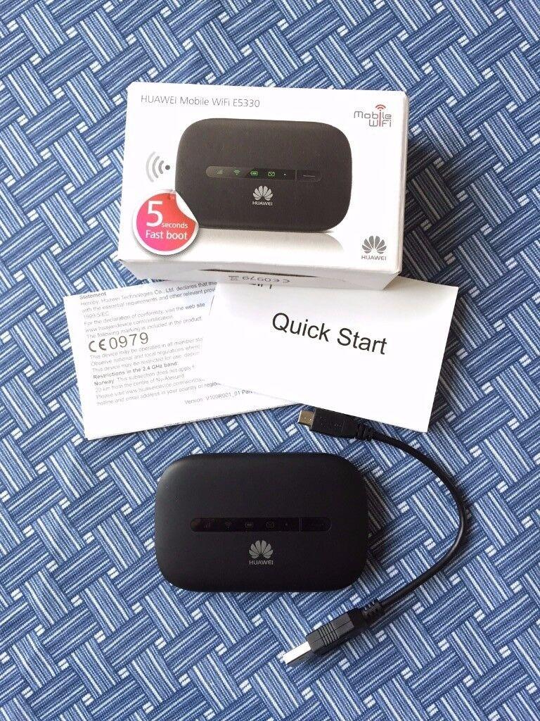 Hauwei Mobile WiFi E5330