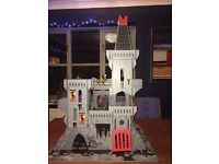 Toy castle With figures