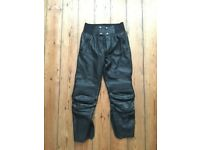 Furygan Ladies Leather Trousers Size 44