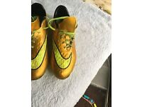 Nike Hypervenon Football Boots UK 5.5 Men Boys Girls Women