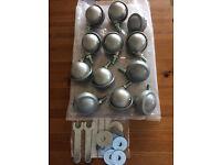 Selling 12 Gently Used Vispring C1 Shepherd Castors
