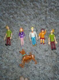 Scooby-Doo figures