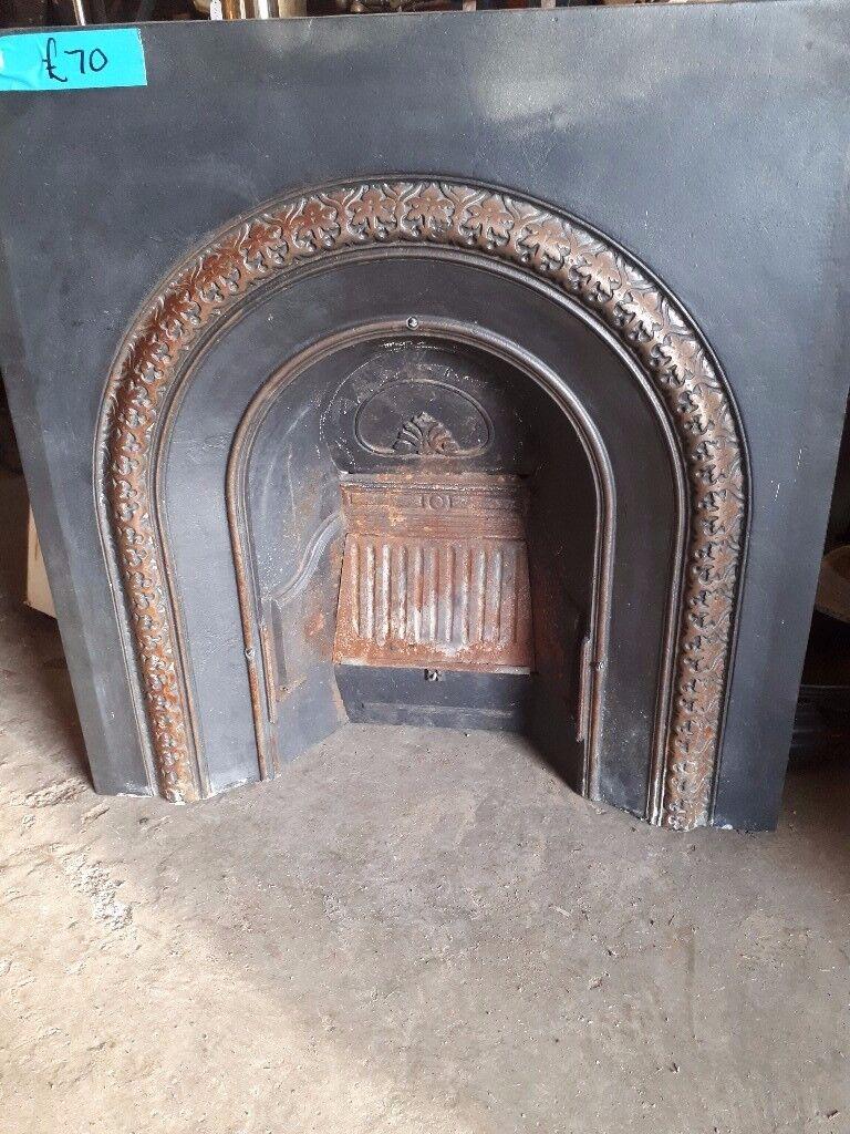 Reclaimed Cast Iron Fire