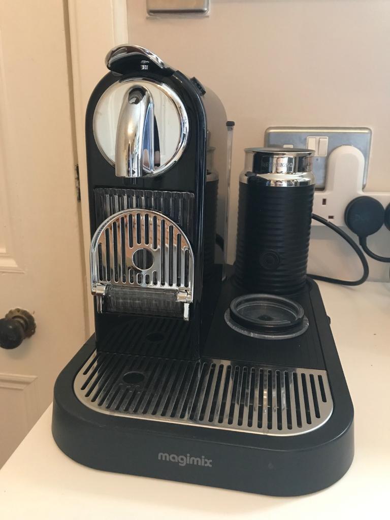 Nespresso magimix with milk foamer £50