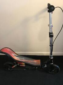 Pump up scooter