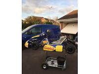 Gold kart rolling chassis 2016/17