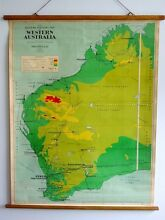 Vintage Chas Scally Map of Western Australia Leederville Vincent Area Preview