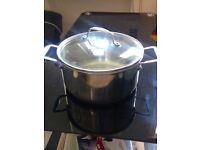 Chef Quality Copper Bottom Pot and Colander