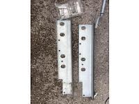 Al KO spare wheel extender brackets (Brand New)