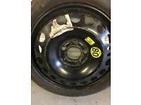 """Vauxhall 5 stud 16"""" space saver wheel from Astra j"""