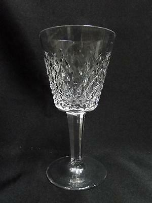 Crystal Cut Cross (Waterford Crystal Alana, Cut Cross Hatch: Claret Wine (s), 5 7/8