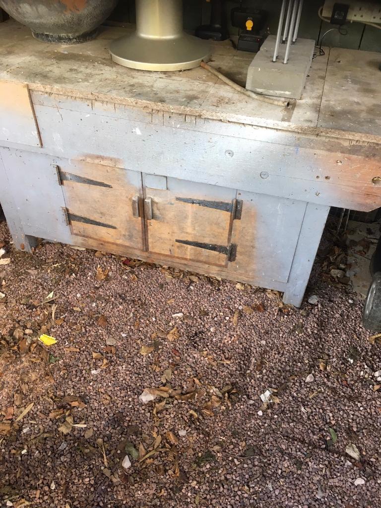 Old School Woodwork Bench In Stafford Staffordshire Gumtree