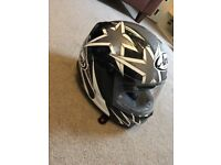 Arai RX-7 Corsair helmet, size S, only used once