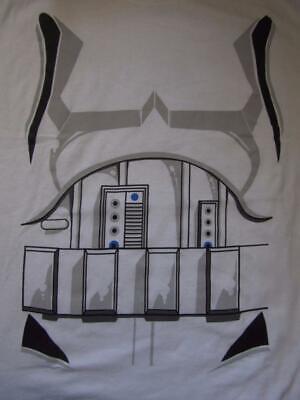 Star Wars Stormtrooper 2XL Halloween Costume T-Shirt Force Awakens Last Jedi