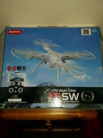 Rc - Indoor/Outdoor Drone with Builtin Camera - Live stream and 2 x Batteries
