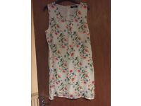 Flower shift dress size 14