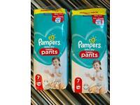 Size 7 unopened Pamper pants!