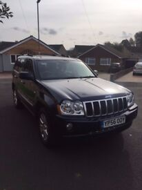 2007 Jeep Grand Cherokee 3.0CRD V6 auto Overland DIESEL 4X4 4WD HUGE SPEC.