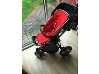 Quinny buzz pushchair and car seat