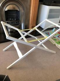Deluxe Moses basket stand / carrycot stand