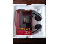 Philips retro stereo cassette player