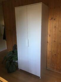 IKEA wardrobe with 2 doors, white £25