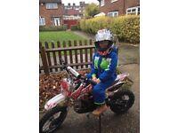 Kids 125 dirt bike