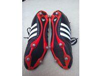 Adidas football boots size 8 1/2