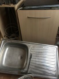 Stainless Steel Sink and Tap £10